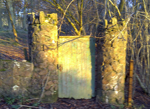 Gateway in Brockhill Road, West Malvern